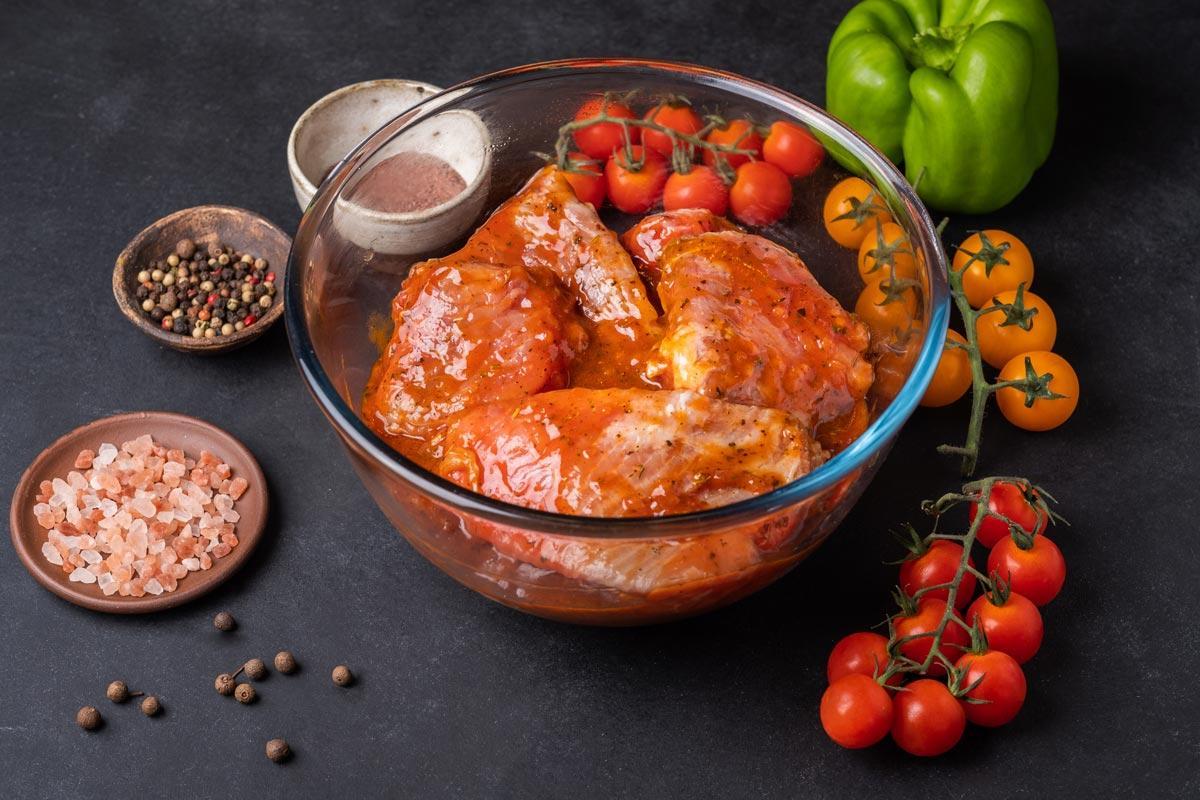 Cом шашлык в болгарском маринаде охлажденный