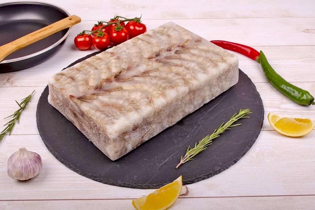 Креветка блочная Индия 1.8 кг