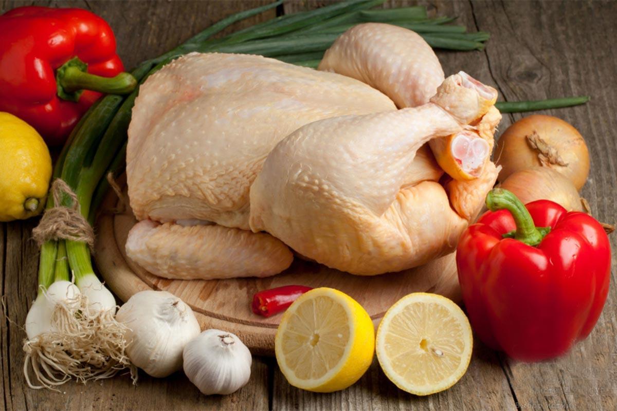 Курица желтая халяль для жарки охлажденная