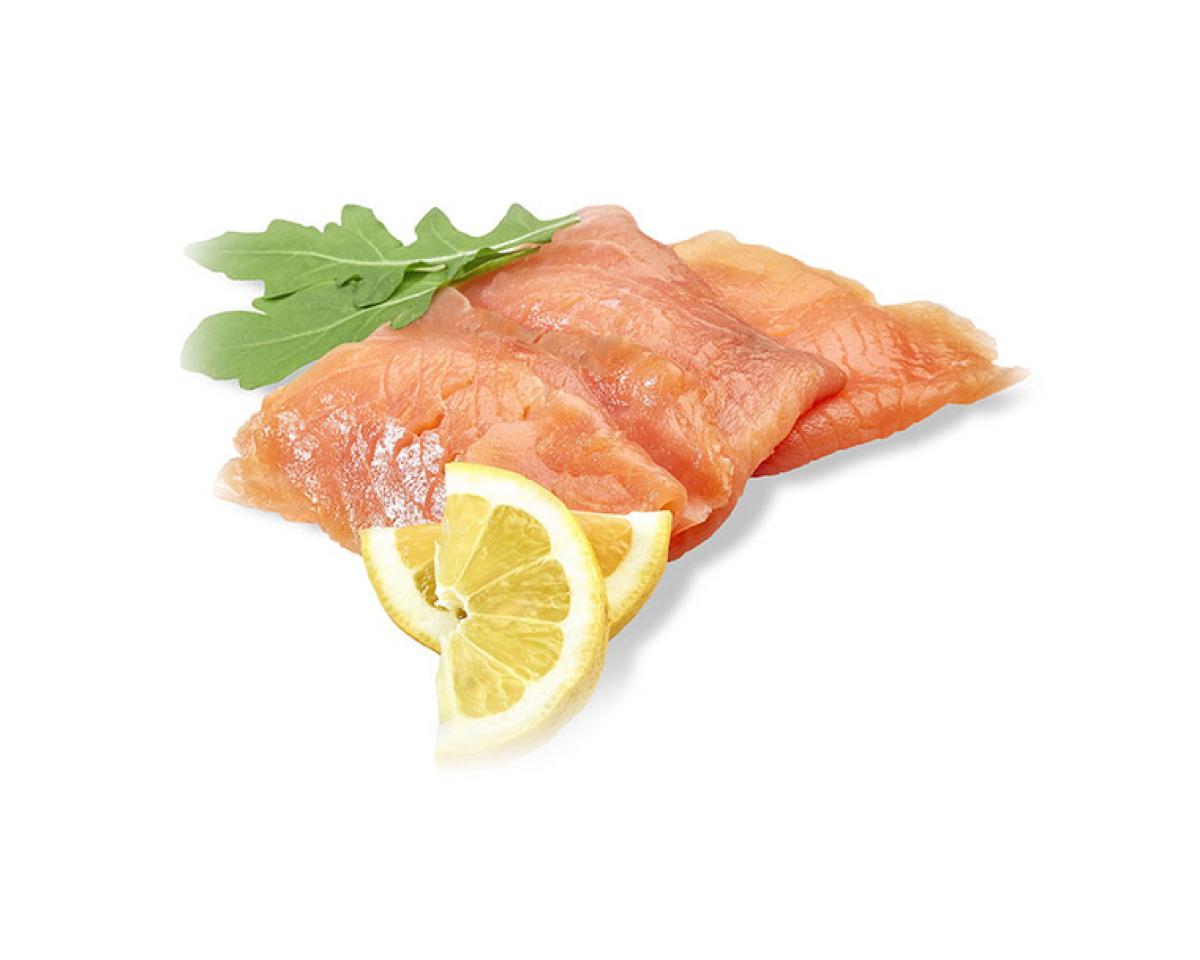 Филе лосося горячего копчения