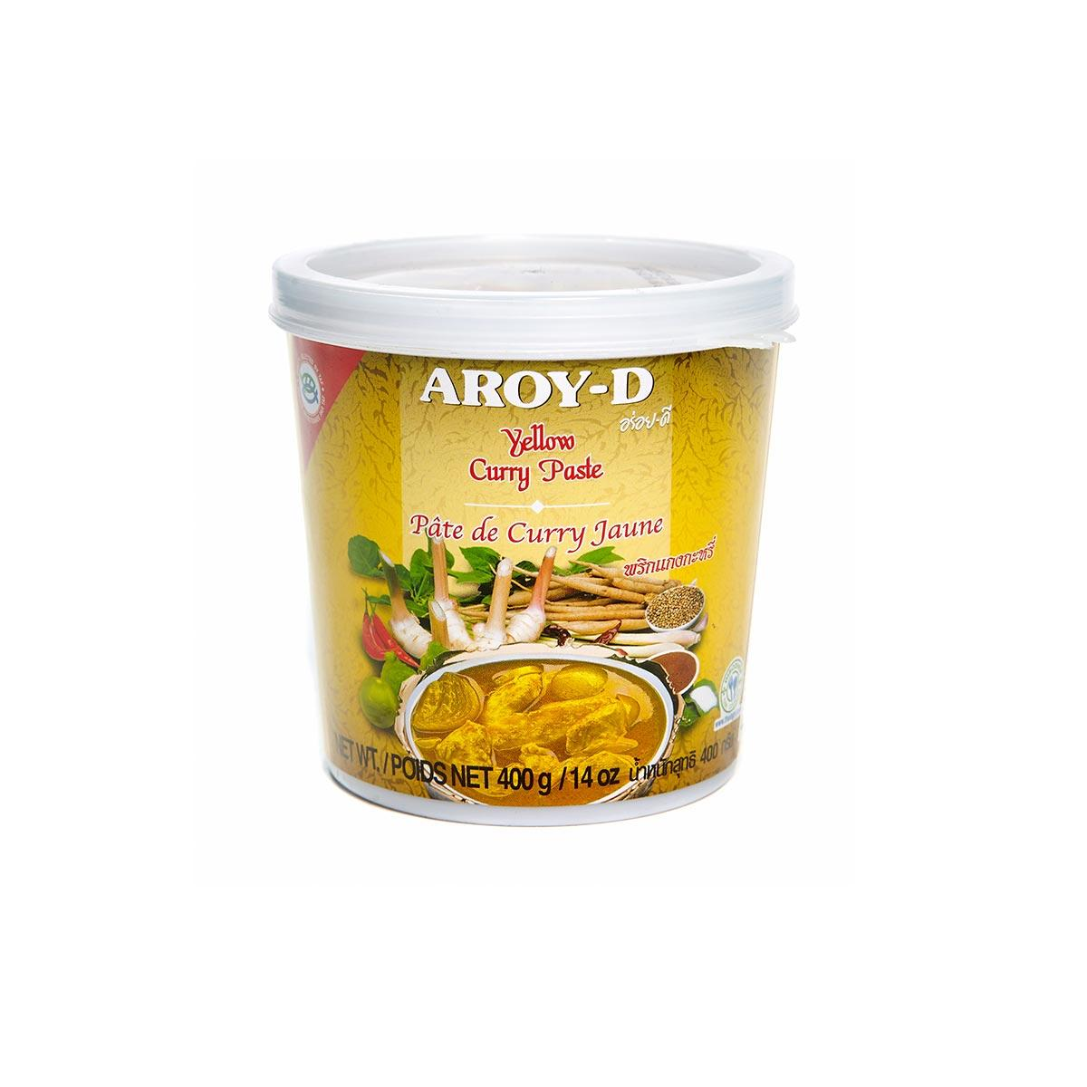 Карри желтая паста AROY-D 400 г
