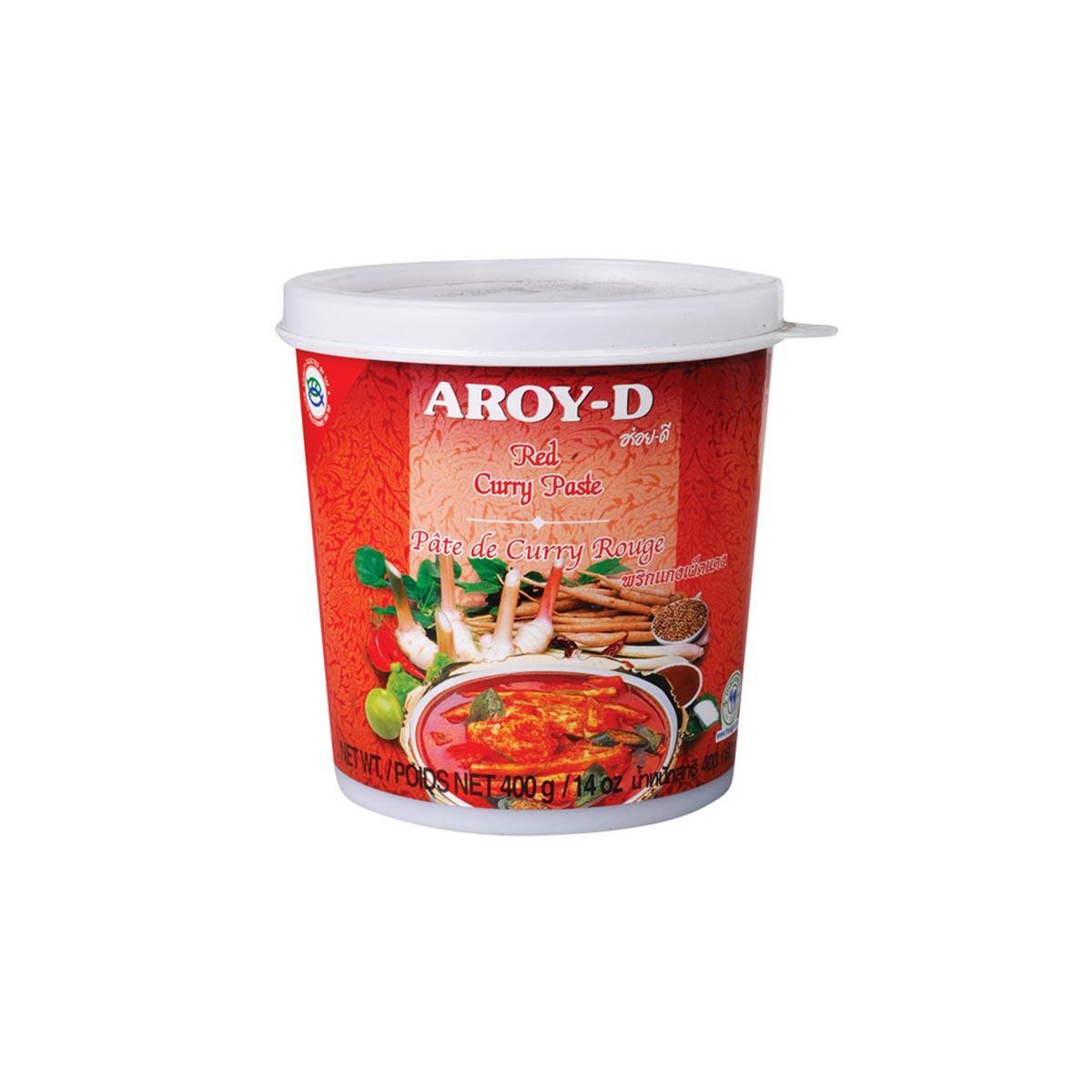 Карри красный паста AROY-D 400 г