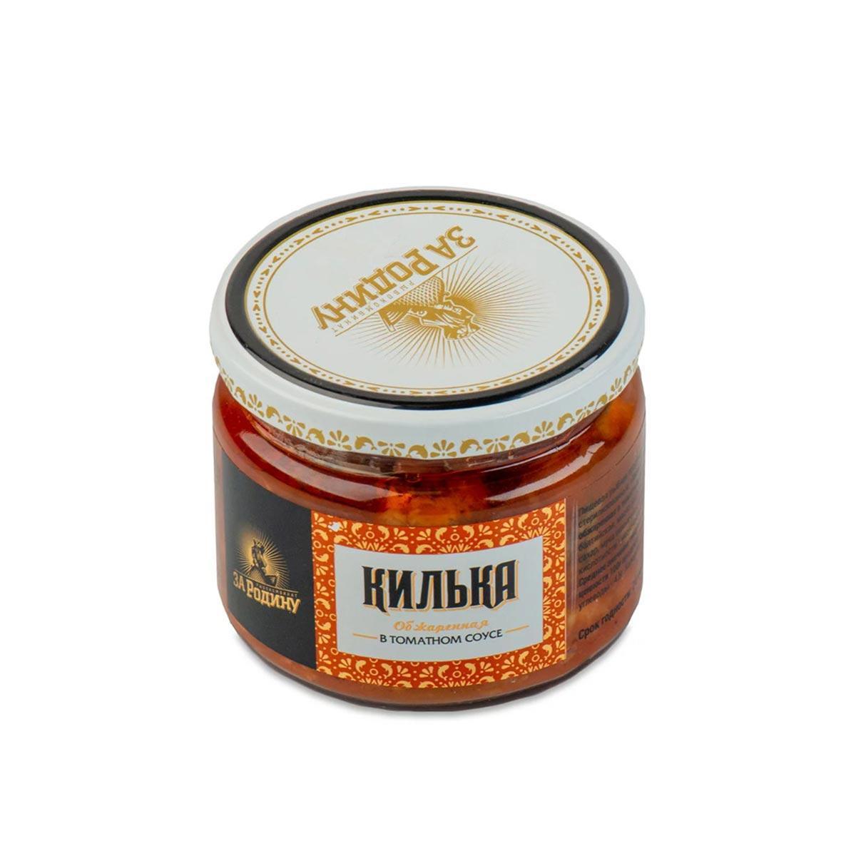 Килька обжаренная в томатном соусе, 270 г