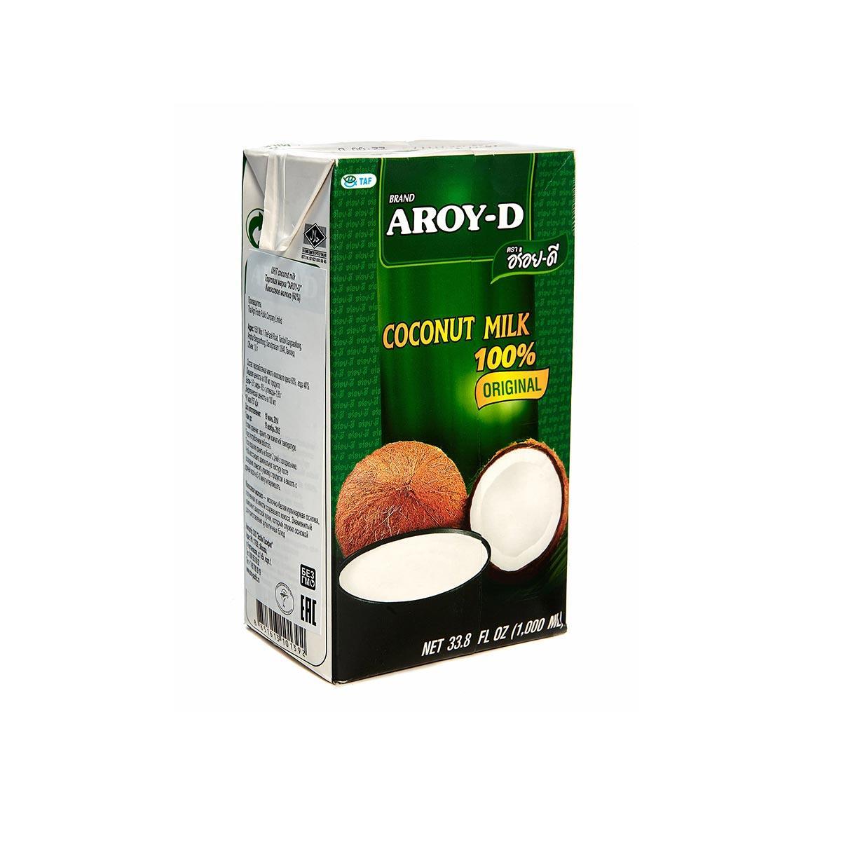 Кокосовое молоко 60% AROY 1000 мл