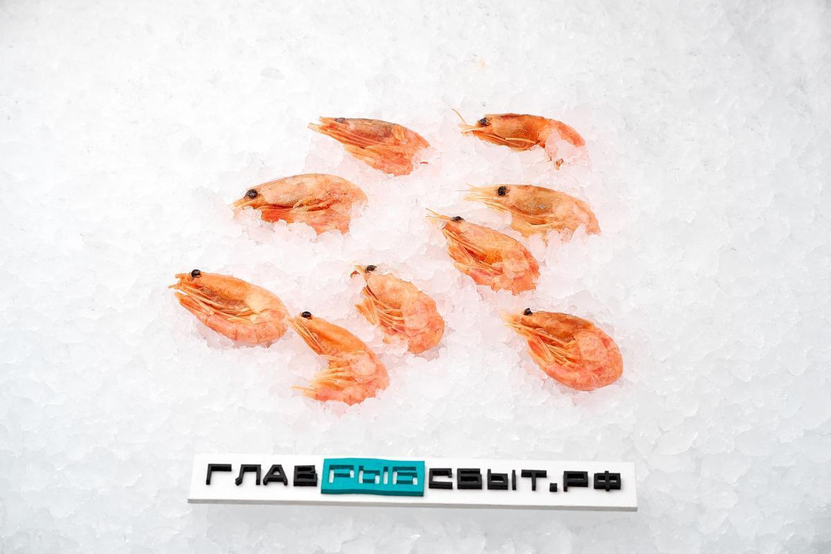 Креветки северные 70-90 шт варено-мороженые