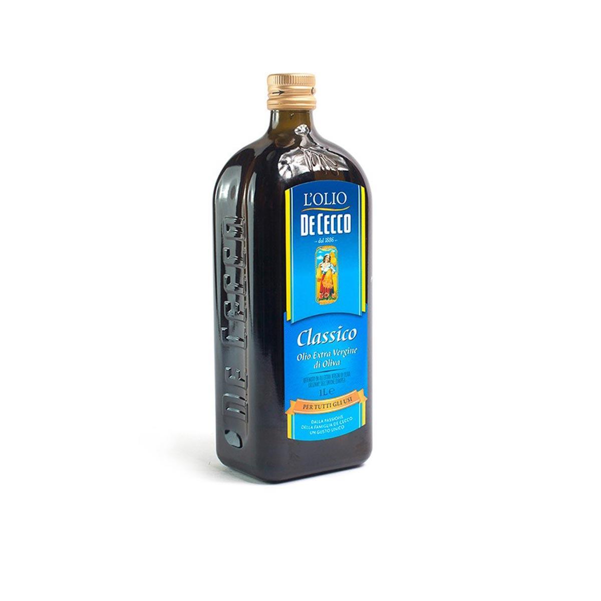 Оливковое масло Extra Virgin DE CECCO 1000 мл