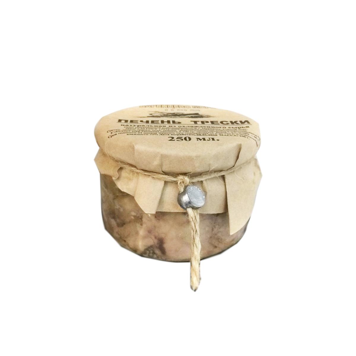 Печень трески натуральная, 250 г