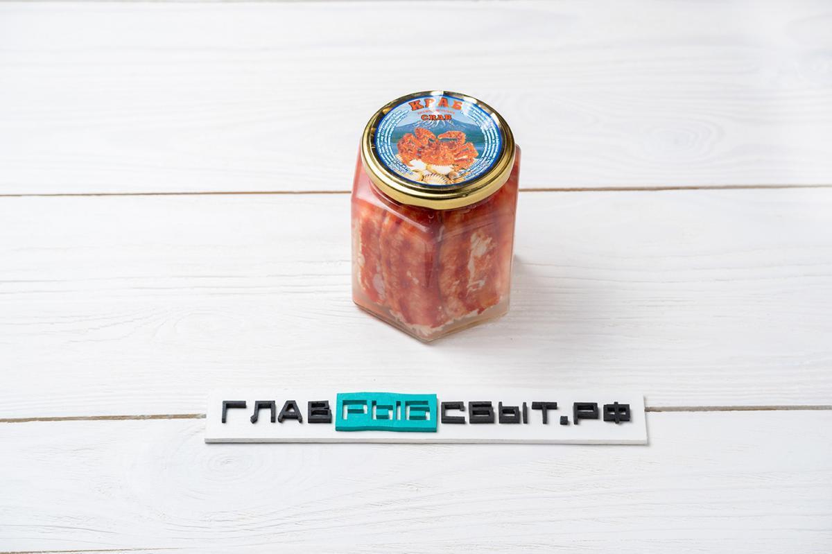 Краб камчатский 1-я фаланга, 400 г